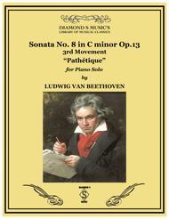 Piano Sonata No. 8 in C minor, Op. 13.