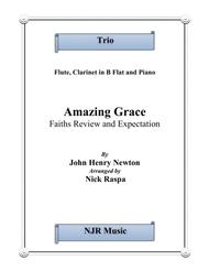 Amazing Grace -Trio for Flute, Clarinet in B Flat & Piano
