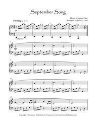 September Song - Agnes Obel, simplified