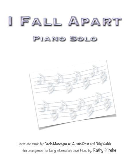 I Fall Apart - Piano Solo