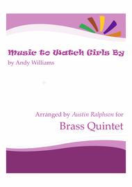 Music To Watch Girls By - brass quintet