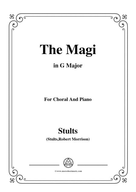 Stults-The Story of Christmas,No.8,The Magi,The Star in the East,in G Major
