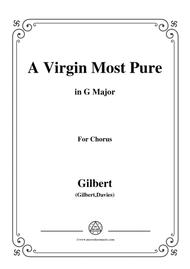 Gilbert-Christmas Carol,A Virgin Most Pure,in G Major