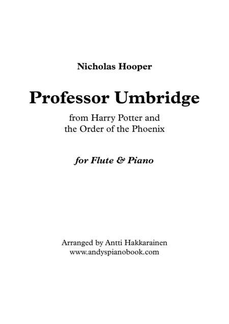 Professor Umbridge - Flute & Piano