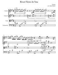 River Flows In You - String quartet