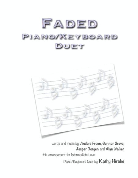 Faded - Piano/Keyboard Duet