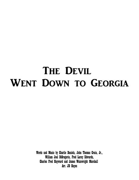 The Devil Went Down To Georgia - Handbells