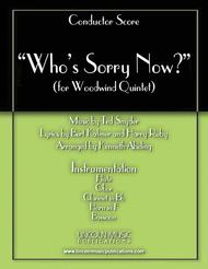 Who's Sorry Now? (for Woodwind Quintet)