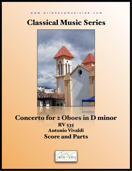 Concerto for 2 Oboes in D minor RV 535