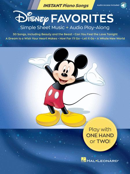 Disney Favorites - Instant Piano Songs