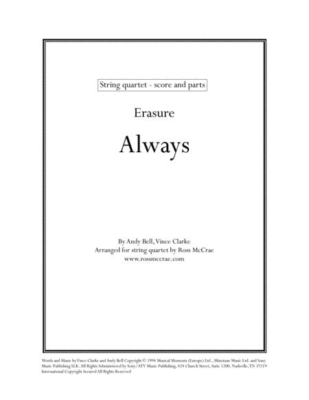 Always (String Quartet)