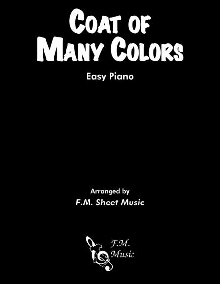 Coat Of Many Colors (Easy Piano)