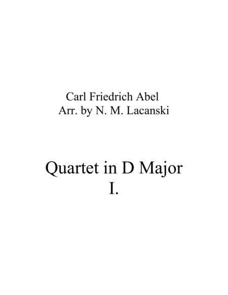 Quartet in D Major Movement 1
