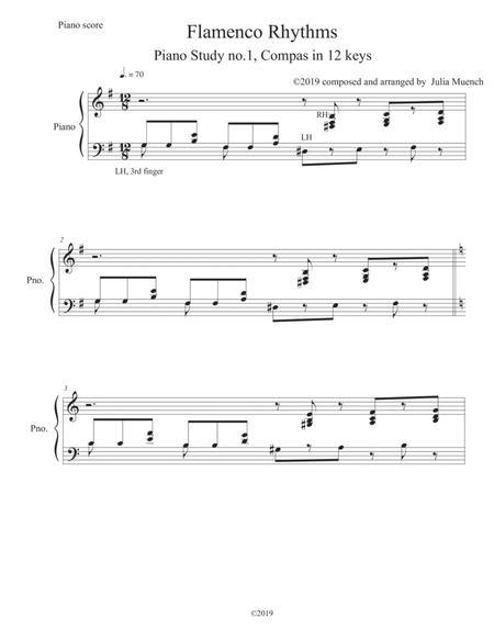 Flamenco Rhythms for the Piano