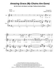 Amazing Grace (My Chains Are Gone) (for 2-part choir - (SA)