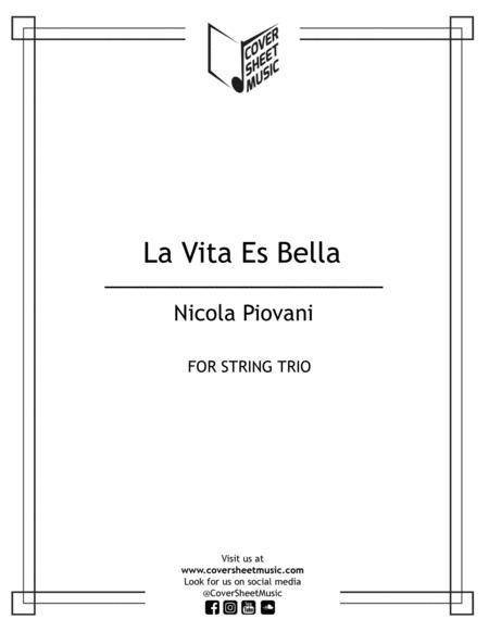 Life Is Beautiful (la Vita E Bella) String Trio