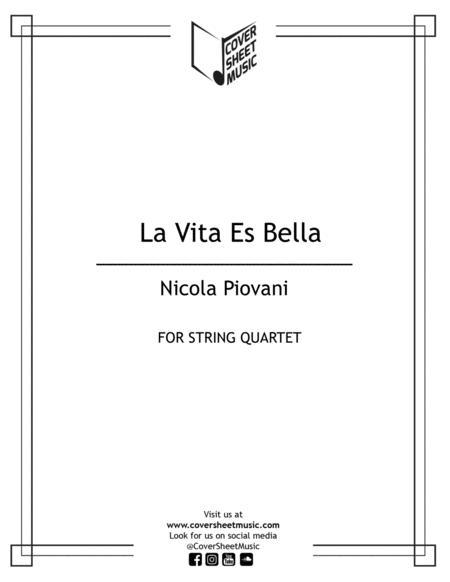 Life Is Beautiful (la Vita E Bella) String Quartet