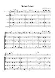 Clarinet Quintet, Opus 133