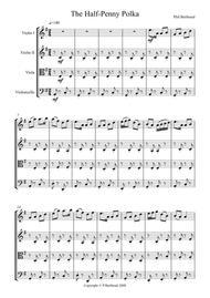 Halfpenny Polka for String Quartet