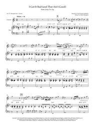 I Got It Bad (And That Ain't Good) -- Soprano Sax (opt. Clarinet) Solo Ballad with Piano Accompaniment (Duke Ellington, Ella Fitzgerald)