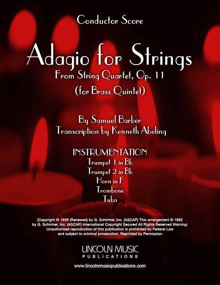 Barber - Adagio for Strings (for Brass Quintet)