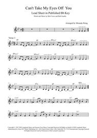 Can't Take My Eyes Off Of You - Lead Sheet in Published Bb Key (With Chords)