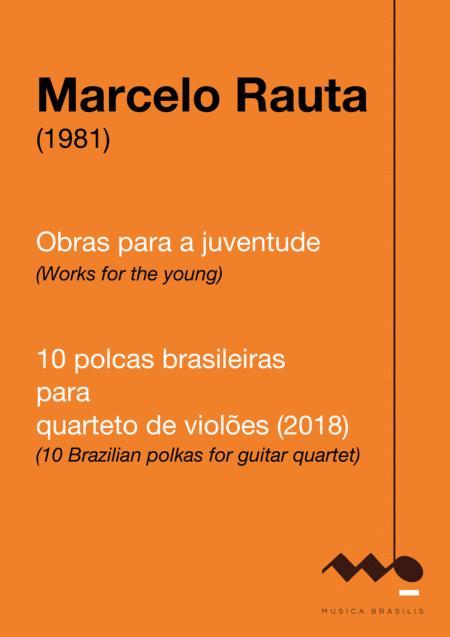 10 polcas brasileiras para quarteto de violões