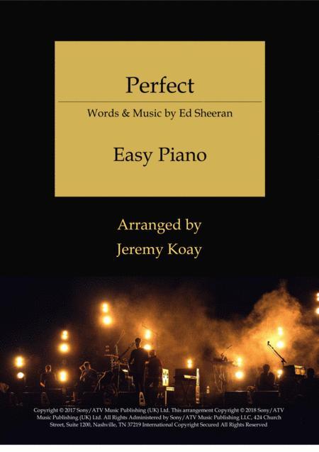 Perfect (Easy Piano)