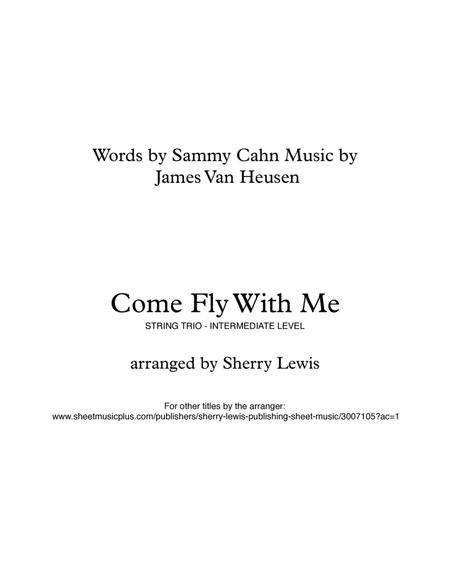 Come Fly With Me for STRING TRIO (for string trio)