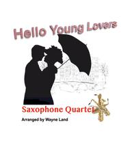 Hello, Young Lovers (Saxophone Quartet)