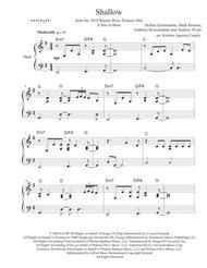 Shallow - Lady Gaga & Bradley Cooper (Pedal or Lever Harp Arrangement)