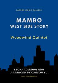 Selection - West Side Story - 'Mambo' for Woodwind Quintet
