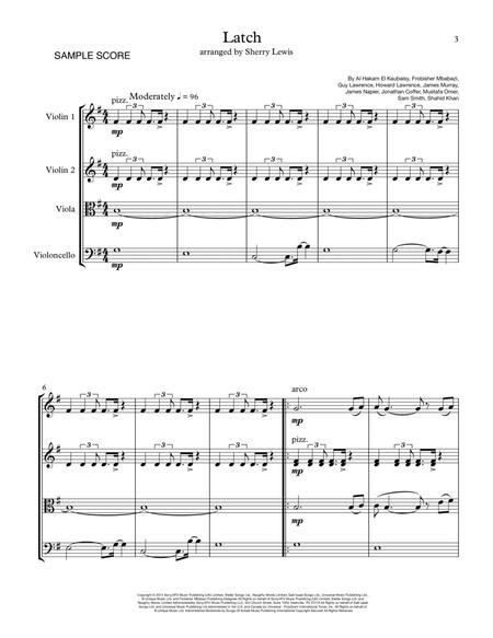 Latch STRING QUARTET (for string quartet)