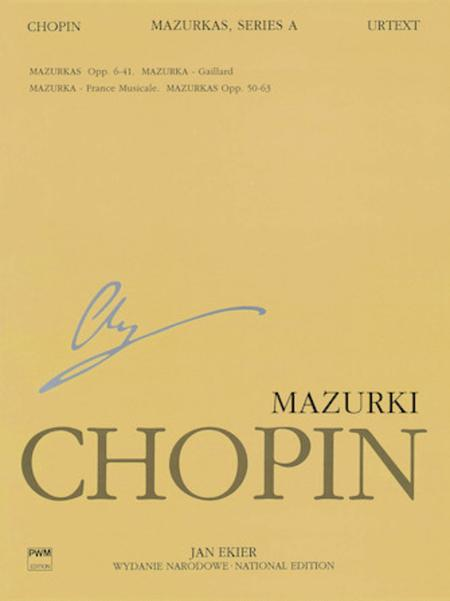 Mazurkas Op. 6-41, 50-63