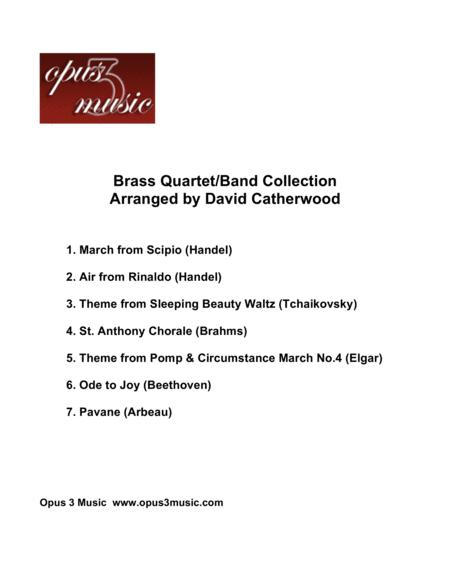 Brass Collection - Seven Really Useful Pieces Arranged for Brass (Quartet or small Brass band) by David Catherwood