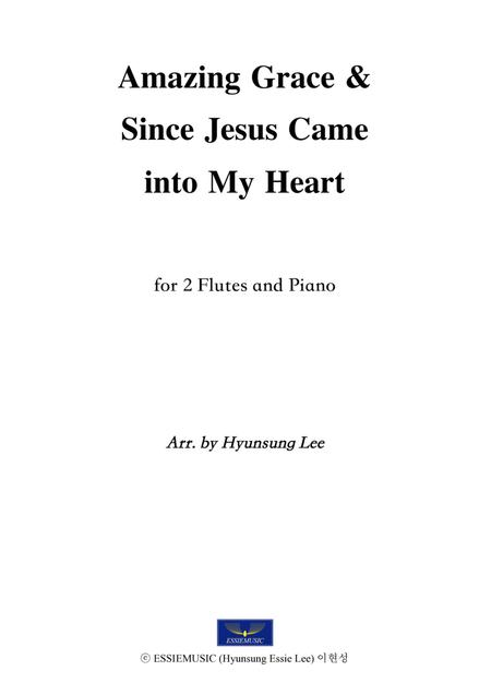 Amazing Grace for 2 flutes & Pno