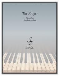 The Prayer (1 piano, 4 hand duet)