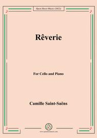 Saint-Saëns-Rêverie,for Cello and Piano