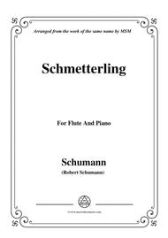 Schumann-Schmetterling,Op.79,No.2,for Flute and Piano