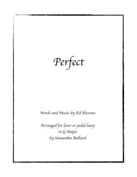 Perfect by Ed Sheeran - Lever Harp Solo