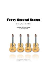 Forty-second Street - 4 guitars or large ensemble