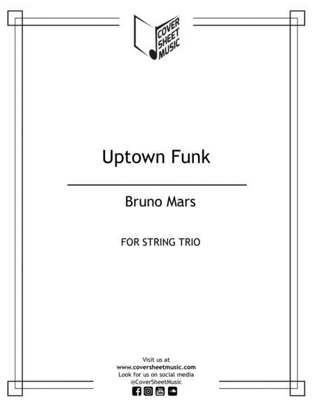 Uptown Funk String Trio