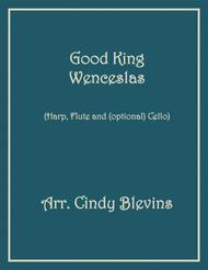 Good King Wenceslas, for Harp, Flute and Cello
