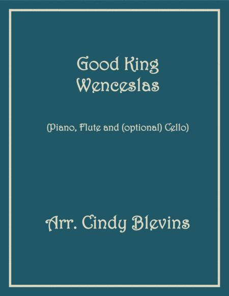 Good King Wenceslas, for Piano, Flute and Cello