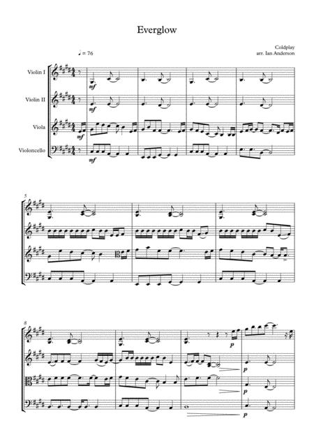 Everglow (string quartet)