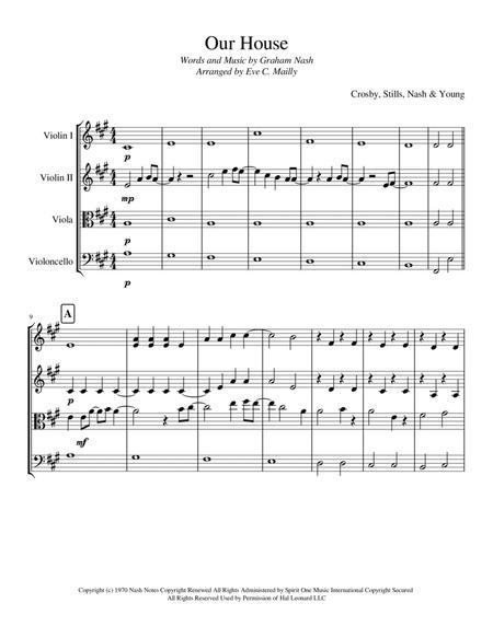 Our House (String Quartet)