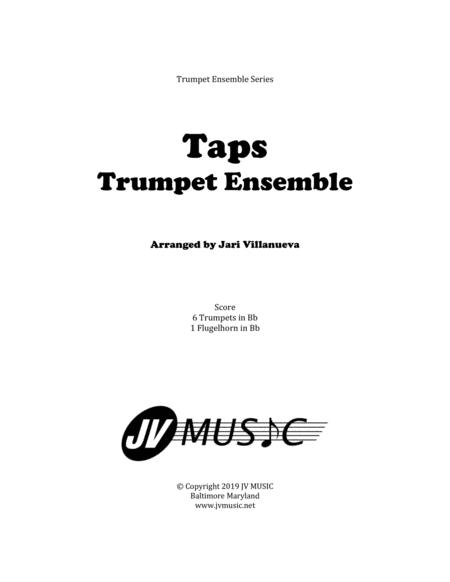 Taps for Solo Bugle and Trumpet Ensemble