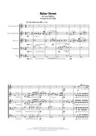 Gerry Rafferty - Baker Street for Brass Quintet