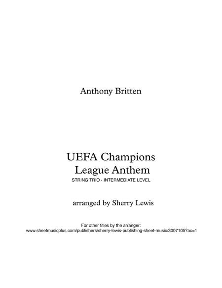 UEFA Champions League Theme STRING TRIO (for string trio)