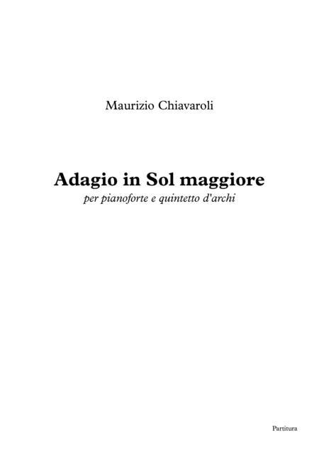 Adagio in Sol maggiore